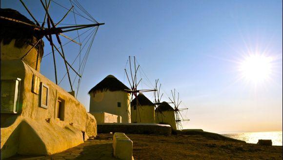 Windmill Sundown