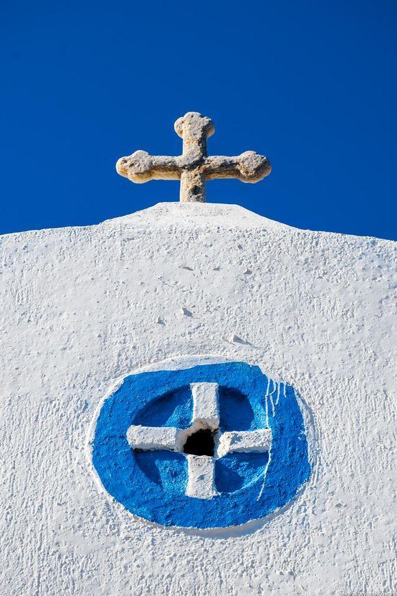 ...old cross...