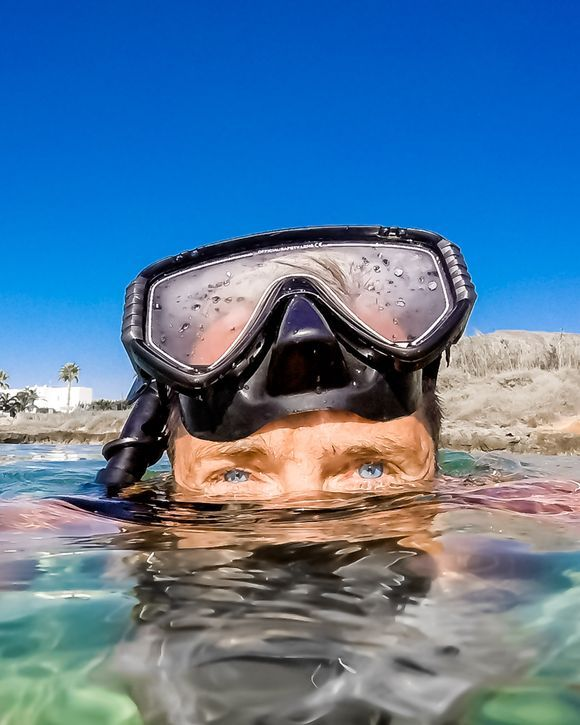 ...selfie....searching for octopus...:)