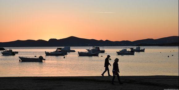 ...sunset stroll...
