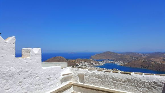 View from the monastery of St John the Theologian