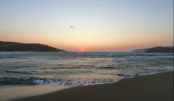 Sunset at Prassonisi