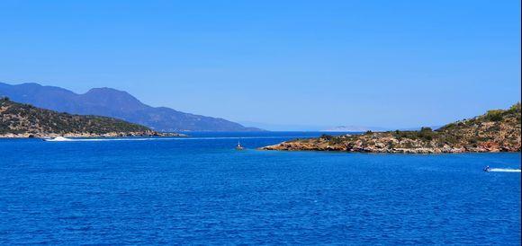 Near the Poros island