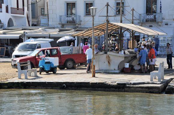 Ole Port, fish-market
