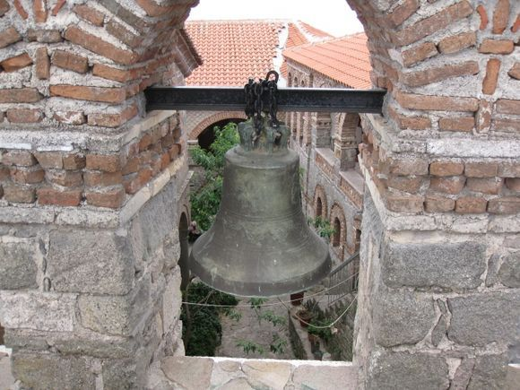 Bell Tower Ipsilou Monastery