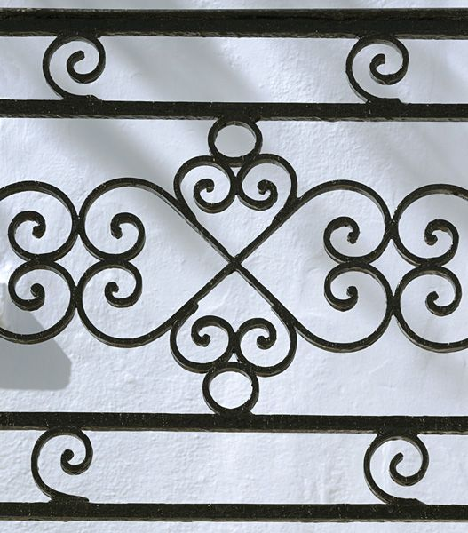 Curly railing