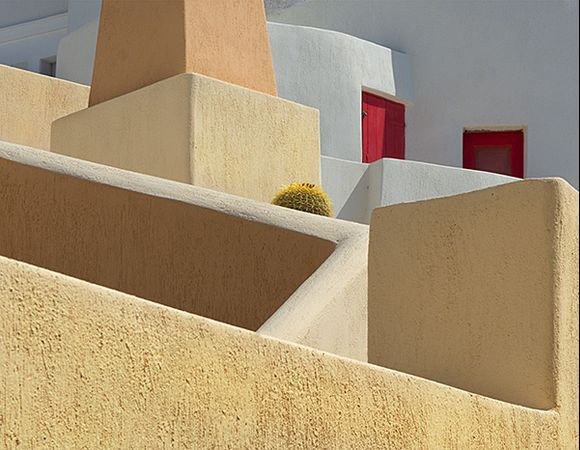 Building shapes near Kastro