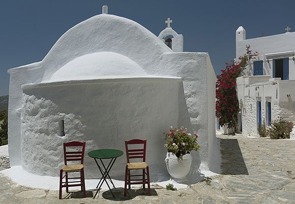 Chapel and chairs - chora