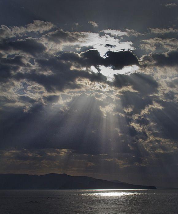 Sunrise at Karavostasi