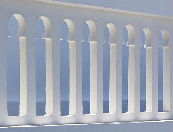 Balcony railing in Arkesini