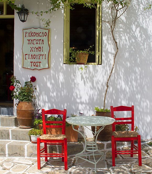 Cafe in Kastro
