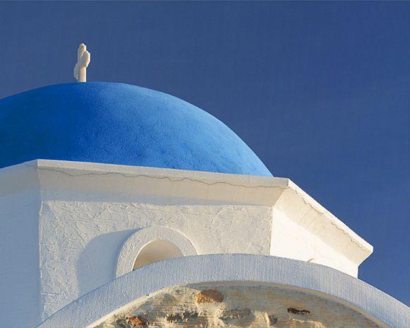 Morning at Agios Fokas church