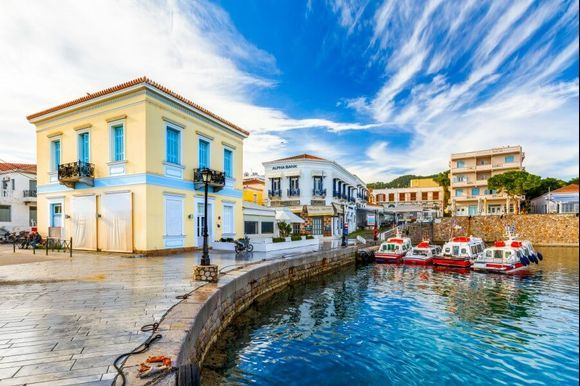 Spetses is my favorite destination for a quick getaway near Athens!
