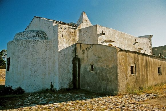 At the castle. Kythira, 2009