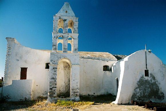 Church in the castle. Kythira, Chora, 2009