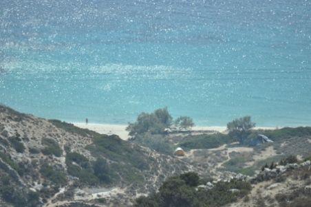 Livadi beach from above