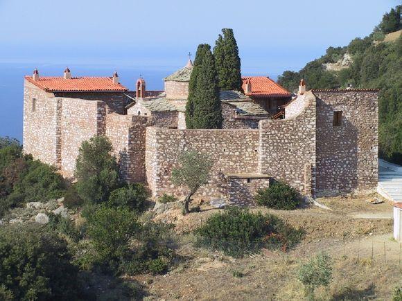 Agia Varvara church on Skopelos
