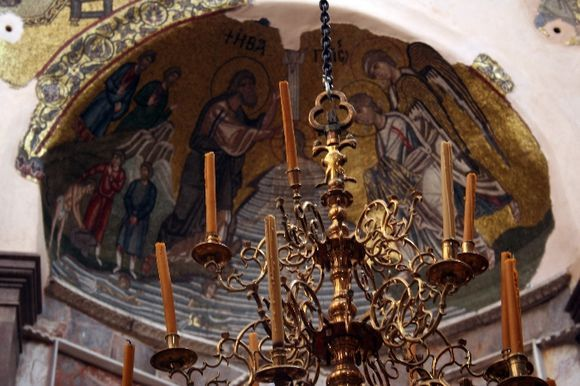 Nea Moni interior mosaic