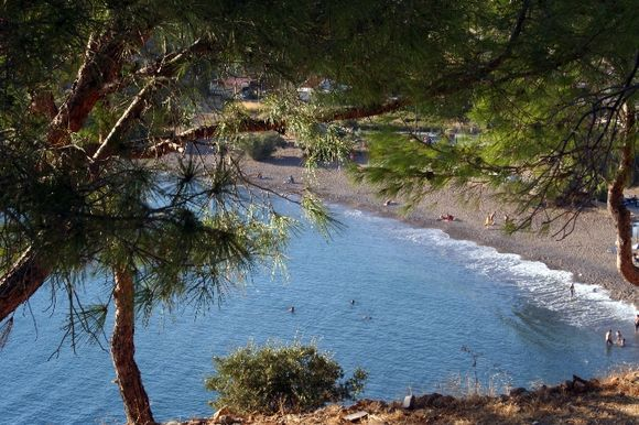Lefkadia Beach