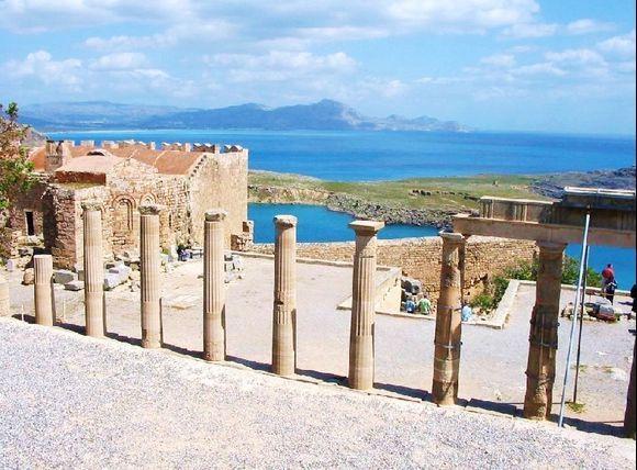 Lindos Akropolis - nice views