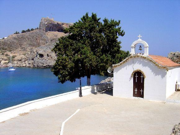 close to Lindos (Agios Pavlos Bay)