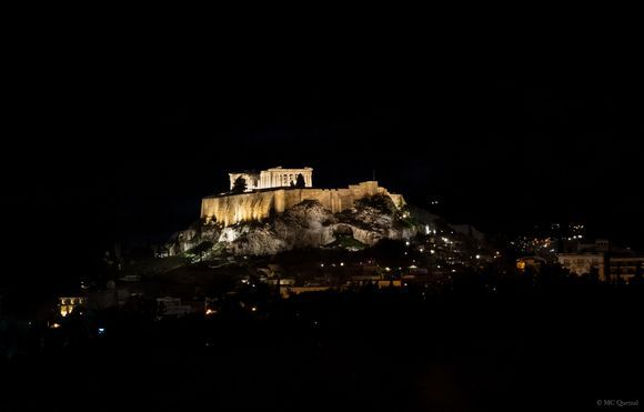 Acropolis by night 🌚