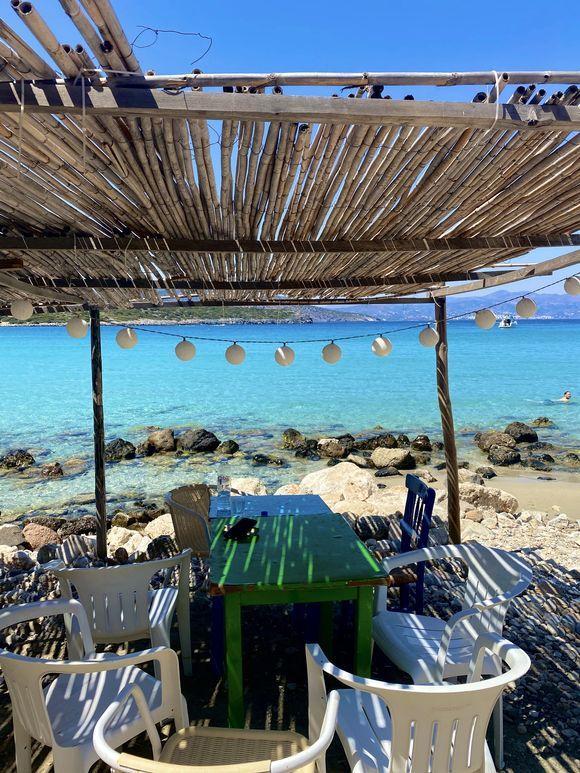 Panorama 📍Voulisma beach, Ágios Nikolaos Hope you like it 📸 #GreekaPhotoConstest