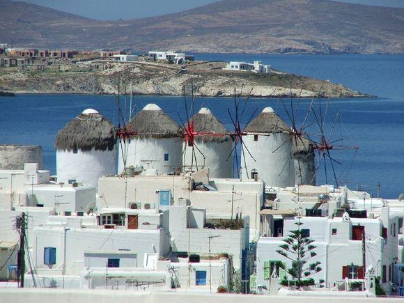 Delos Windmills