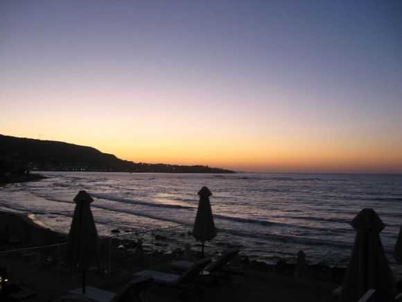 Stalida sunset, Crete