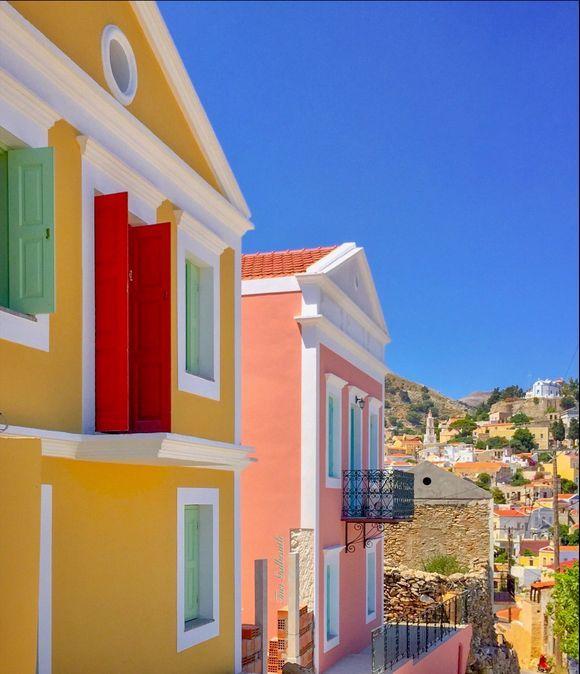 The enchanting Dodecanese island of Symi.
