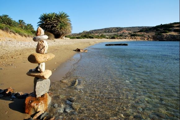 Itanos, stones in the balance