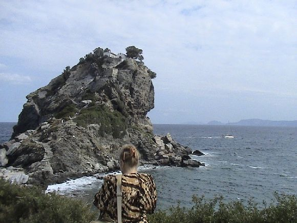 The way to Agios Ioannis