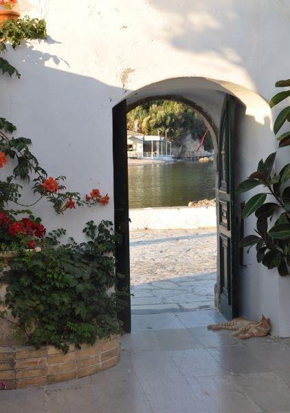 Guarding the entrance