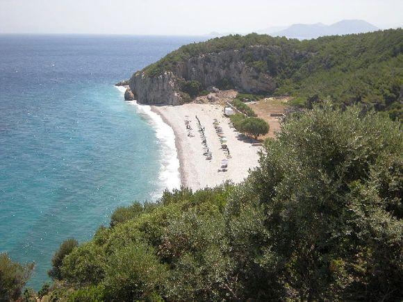 Der Tsabou Beach! fόr mich der schφnste Strand auf Samos