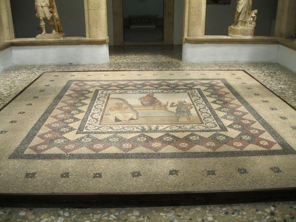 Mosaic from Casa Romana