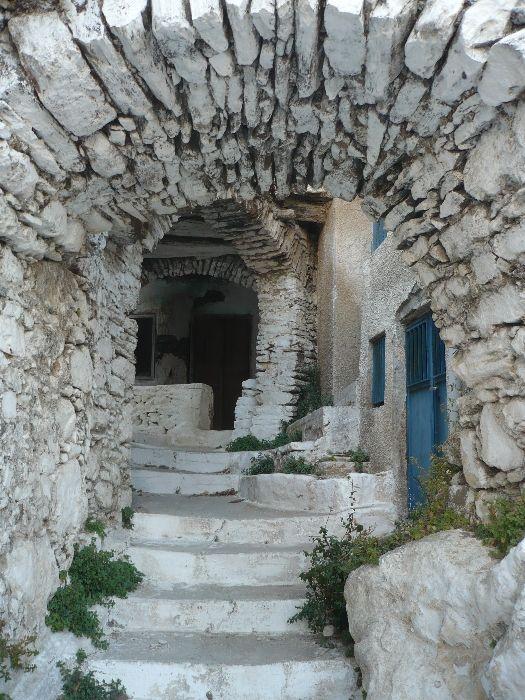 Beautiful village of Koronos.