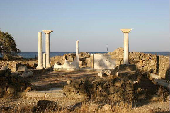 Ancient site near Pigadia, main village of Karpathos.