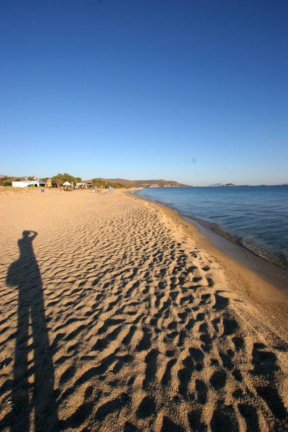 Endless Plaka beach!