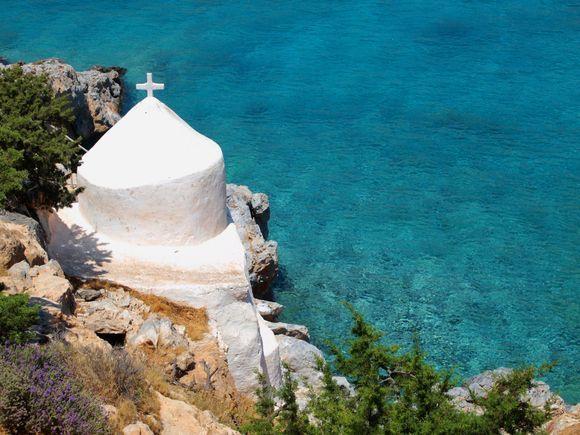 The amazing chapel of Agios Sozon.
