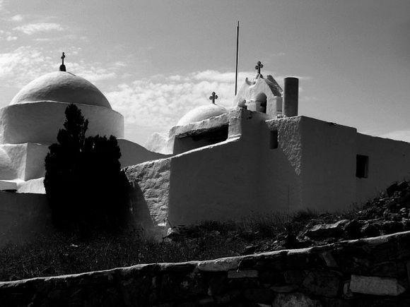 Paros monastery ST Antonio