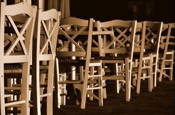 Mykonos Ano Mera chairs