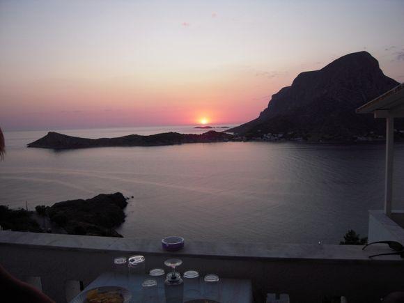 Sunset  at Kalymnos