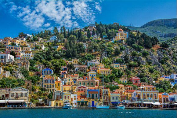 Colorful Symi island!