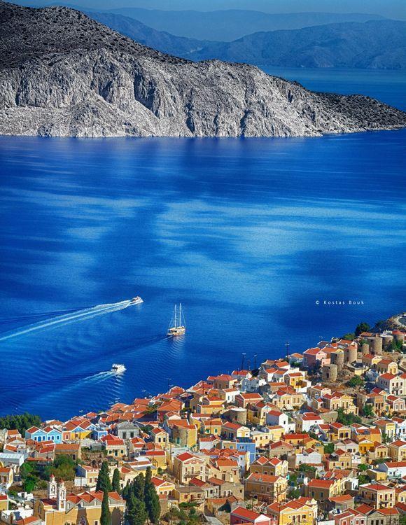 Amazing Symi island! The jewel of the Dodecanese!
