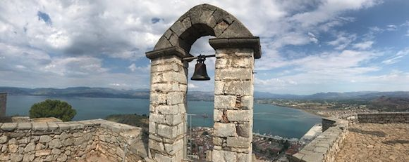 A lot of steps up from Nafplio but worth the views and history! (can take a car but the steps have great views)
