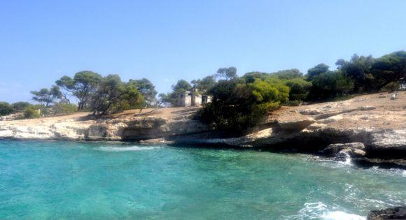 Moni island in Aegina