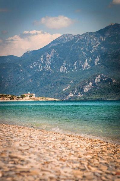 Samos, Mycali beach and Turkey