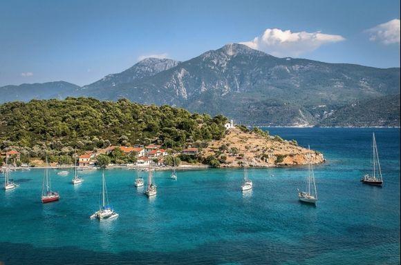 Samos, Posidonio