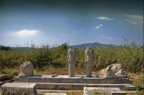 Samos, Ireon, Heraion archaeological site