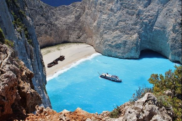 A dream come true ...... one of the most spectacular beaches in Greece